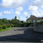 Gonneville-en-Auge, le centre du bourg