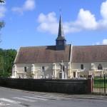 Gonneville-en-Auge, l'église Sainte-Croix du XVIe siècle