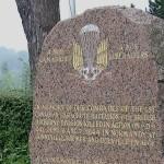 Gonneville-sur-Mer, stèle 1st Canadian Parachute Battalion
