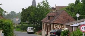 Gonneville-sur-Mer, ville lettrine
