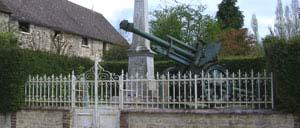 Habloville, monument lettrine