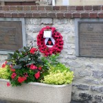 Hérouville-Saint-Clair, plaques victimes civiles & The 2nd Battalion The Lincolnshire Regiment