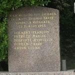 Houlgate, stèle 1re Brigade belge
