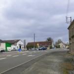 Saint-Germain-sur-Sarthe, le carrefour de La Hutte