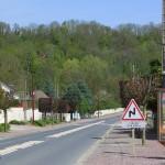 Laize-la-Ville, la rue principale