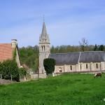 Laize-la-Ville, l'église Notre-Dame XIIe et XVIIIe siècles