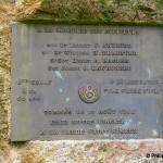 La Lande-Saint-Siméon, stèle aviateurs américains