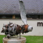 Landisacq, monument Major Coleman