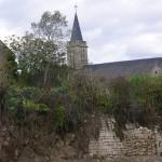 Lantheuil, l'église Saint-Sylvestre du XVIIe siècle