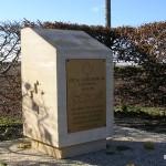 Lantheuil, stèle aérodrome B9