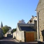 Le Fresne-Camilly, rue de l'église