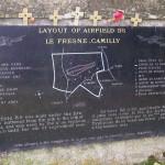 Le Fresne-Camilly, plaque aérodrome B5