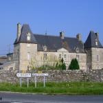 Le Ham, le château du Mesnildot XVIIe siècle (propriété privée)