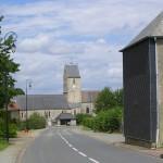 Le Mesnilbus, la rue principale