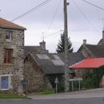 Les Loges-Saulces, le centre du bourg