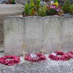 Les Loges-Saulces, tombes soldats britanniques