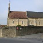 Mathieu, l'église Notre-Dame de l'Assomption du XIIe siècle
