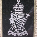 Ranville Longueval, stèle The Royal Ulster Rifles