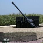Sainte-Marie-du-Mont, Utah Beach canon allemand