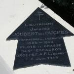 Sainte-Marie-du-Mont, Utah Beach plaque Lieutenant Joubert des Ouches
