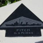 Sainte-Marie-du-Mont, Utah Beach plaque Fitch