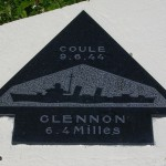 Sainte-Marie-du-Mont, Utah Beach plaque Glennon