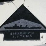 Sainte-Marie-du-Mont, Utah Beach plaque Shubrick