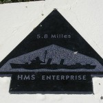 Sainte-Marie-du-Mont, Utah Beach plaque HMS Enterprise