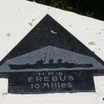 Sainte-Marie-du-Mont, Utah Beach plaque HMS Erebus