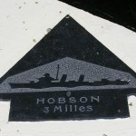 Sainte-Marie-du-Mont, Utah Beach plaque Hobson