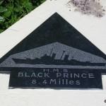 Sainte-Marie-du-Mont, Utah Beach plaque HMS Black Prince