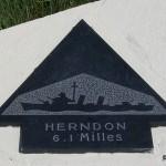 Sainte-Marie-du-Mont, Utah Beach plaque Herndon