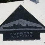 Sainte-Marie-du-Mont, Utah Beach plaque Forrest