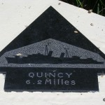 Sainte-Marie-du-Mont, Utah Beach plaque Quincy
