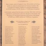 Sainte-Marie-du-Mont, Utah Beach plaque US Navy