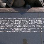Sainte-Marie-du-Mont, Utah Beach monument The US Navy