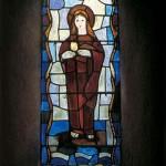 Sainte-Marie-du-Mont, chapelle de La Madeleine vitrail FFL