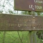 Chambois, panneau circuit gué de Moissy