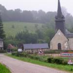 La Roque-Baignard, le centre du bourg