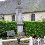 La Roque-Baignard, plaque soldats alliés