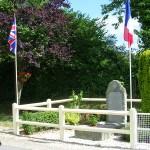 Le Fournet, monument soldats britanniques