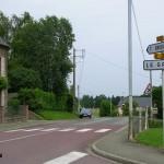 Lonlay-le-Tesson, le carrefour principal