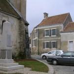 Louvigny, le centre du bourg