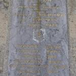 Louvigny, plaque soldats 2e DB