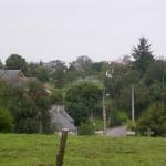 Ménil-Hubert-sur-Orne, l'entrée de la ville