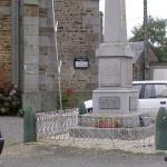 Ménil-Hubert-sur-Orne, plaques pilotes RAF & victimes civiles et militaires