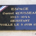 Meulles, stèle sous-lieutenant Rousseau FFC