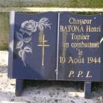 Mézières-sur-Ponthouin, monument soldats 2e DB