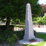Montchamp, stèle général de Gaulle