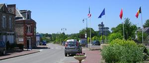 Montchamp, ville lettrine